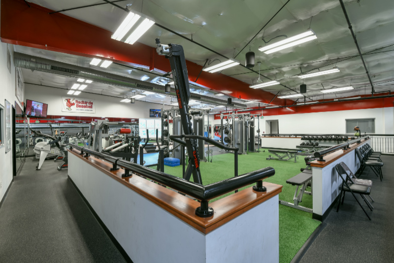 training equipment used in facility