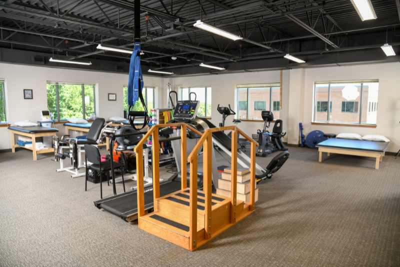 training equipment used at the rosedale facility