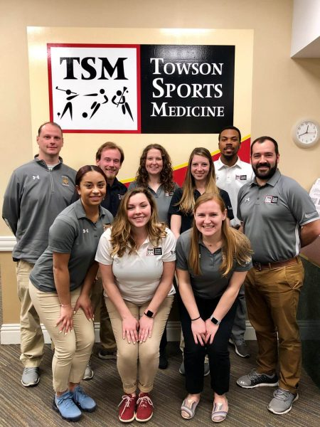 Group Picture of the Certified Athletic Training Staff - TSM