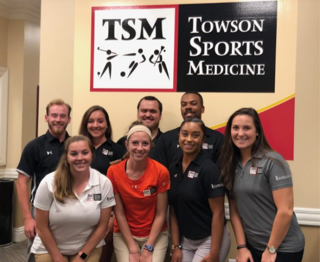 athletic training staff towson sports medicine